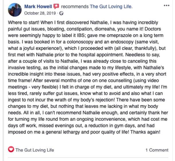 Acid reflux testimonial Mark Howell